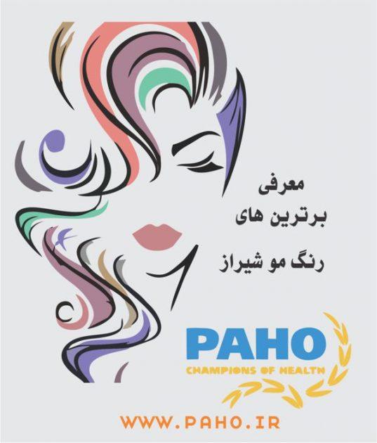 رنگ مو شیراز