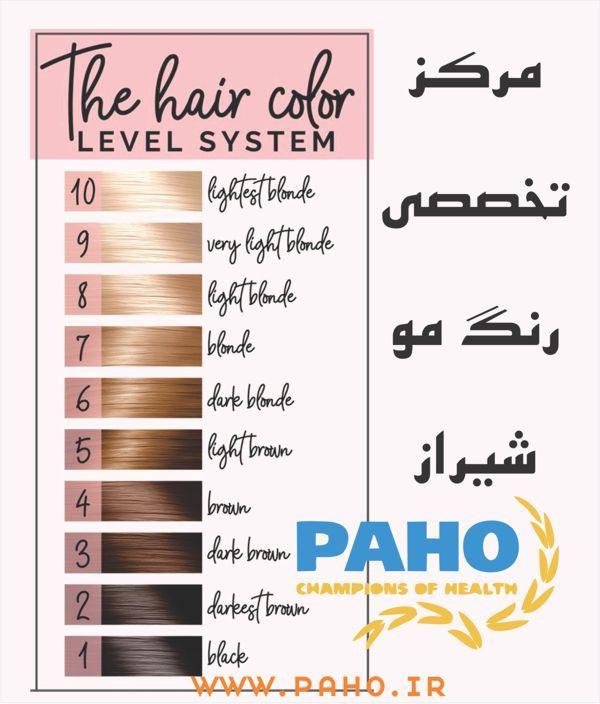 مرکز تخصصی رنگ مو شیراز